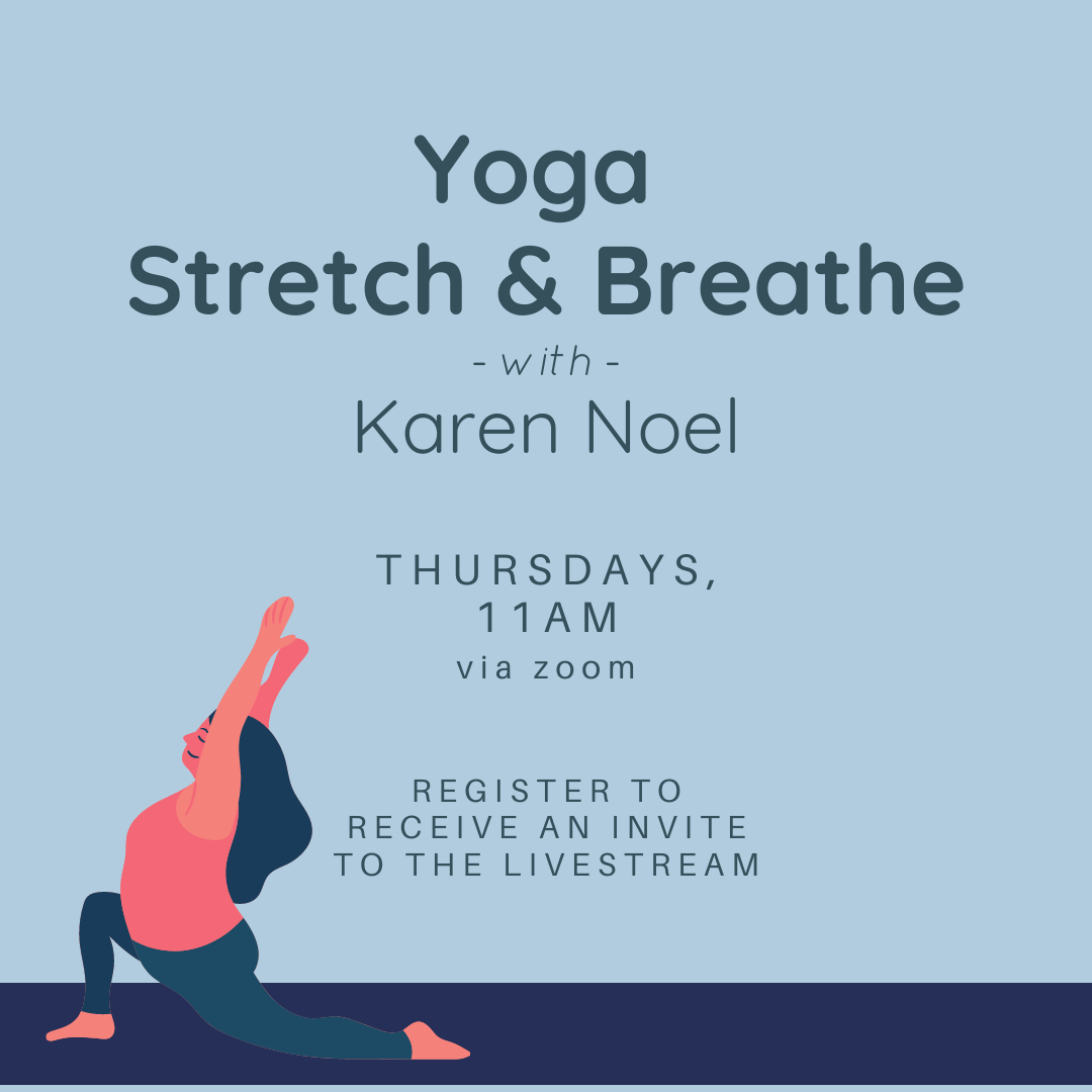 Yoga Stretch and Breathe with Karen