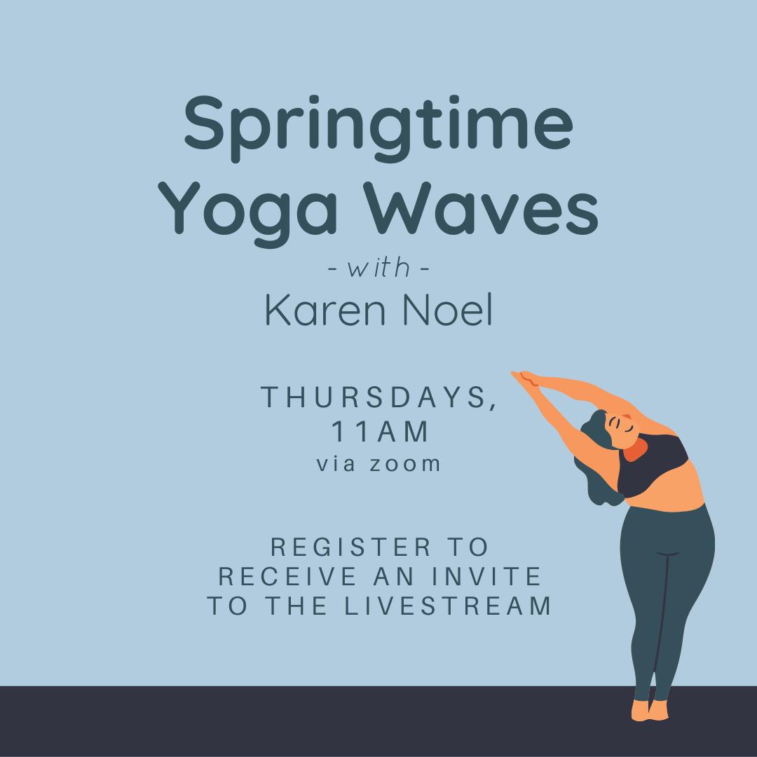 Springtime Yoga Waves