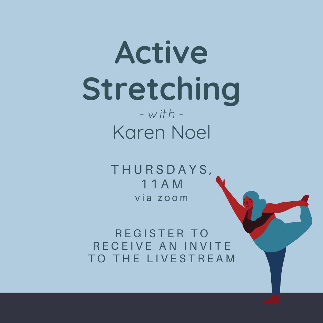Active Stretching with Karen Noel