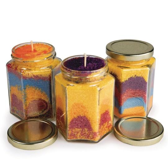 DIY Wax Art Candles, Grades K-6