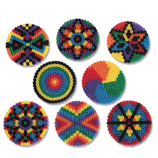 DIY Mandala Fuse Beads, Grades K-6