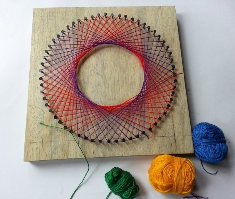 Garden Arts for Adults: String Art