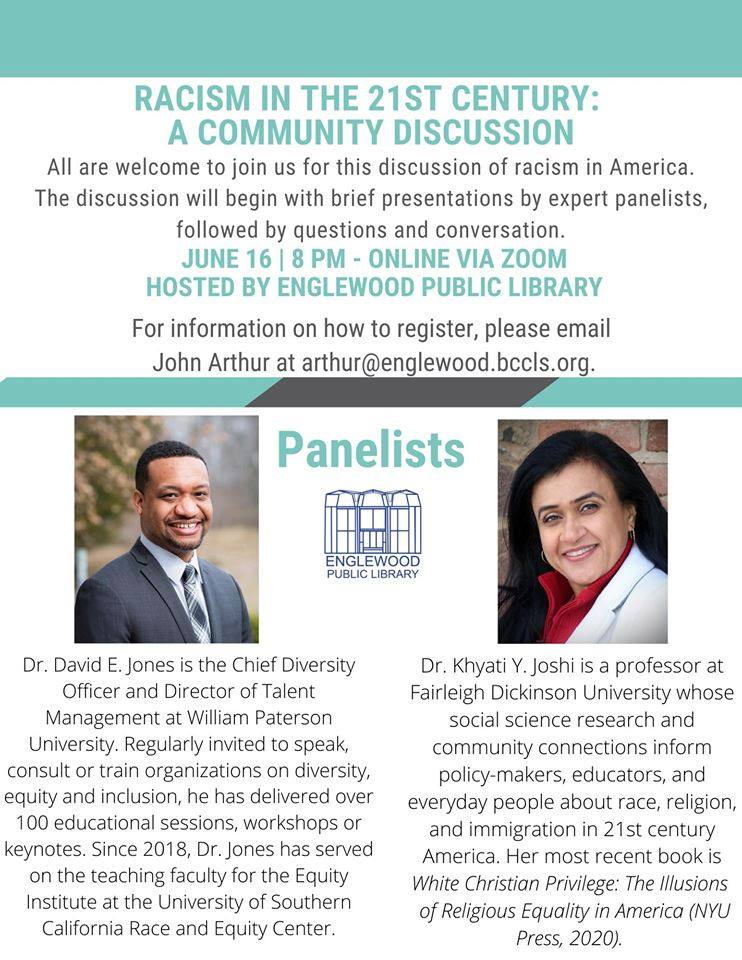 Racism in the 21st Century: A Community Discussion