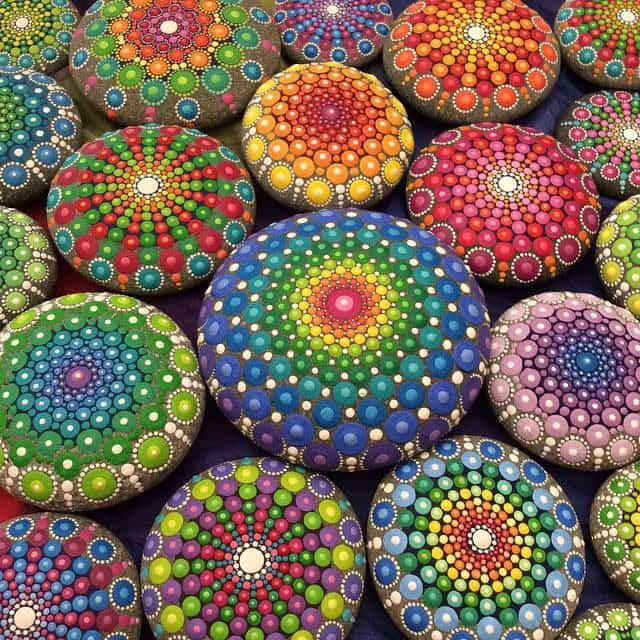 (R) Hackensack Creates...Mandala Rock Painting