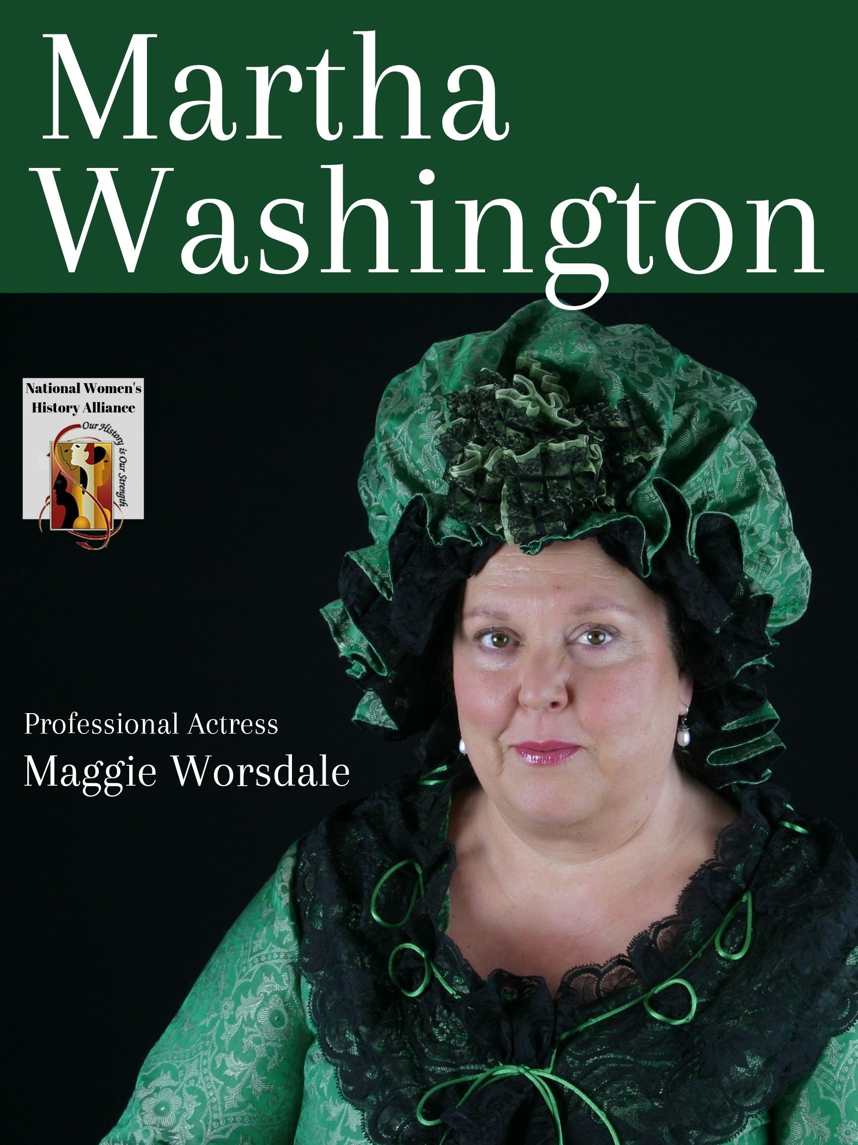 CANCELLED: Meet Martha Washington