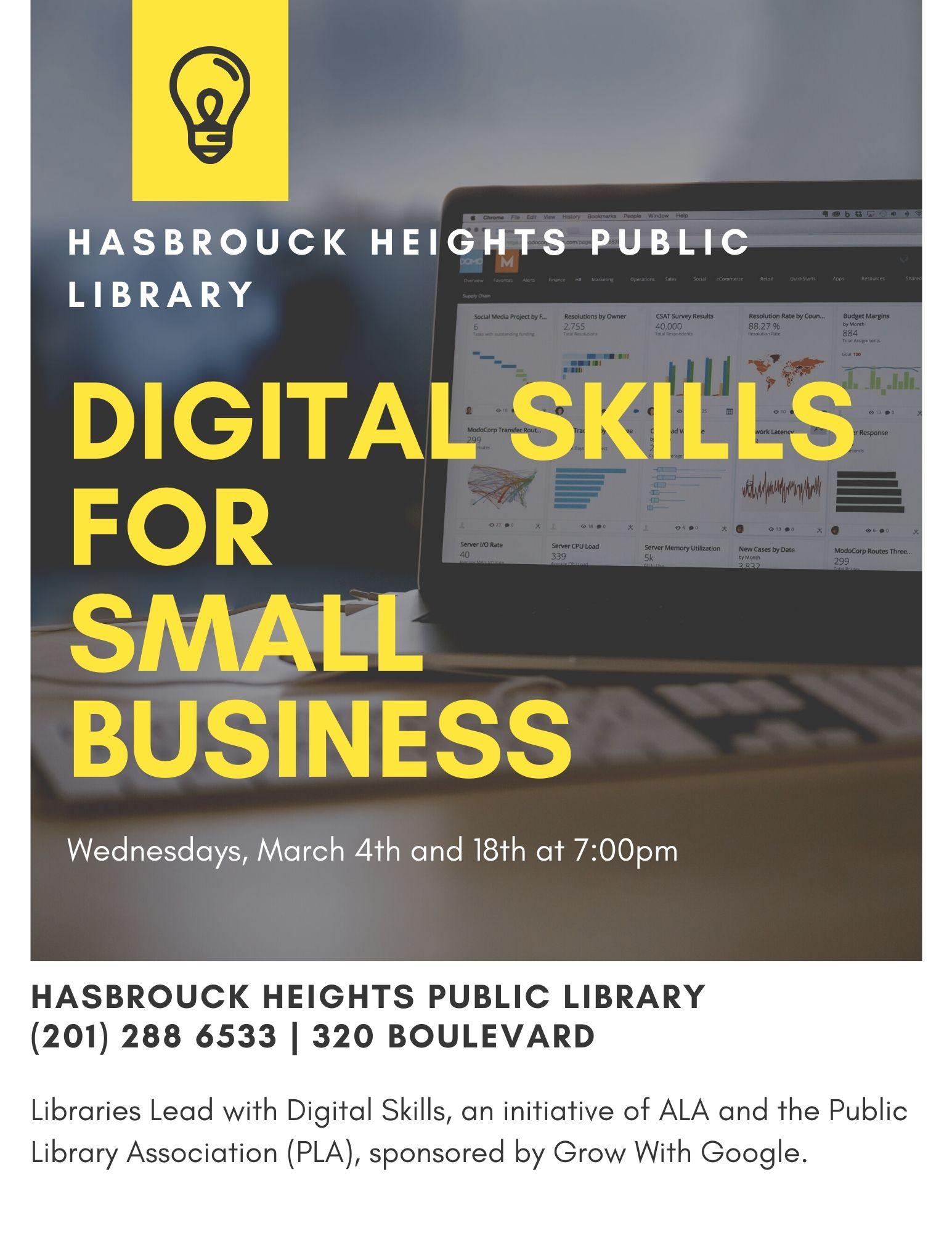 Digital Skills for Small Business