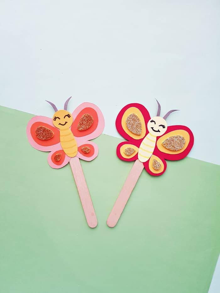 Little Artists Grab & Go@Doorside - Butterfly Craft