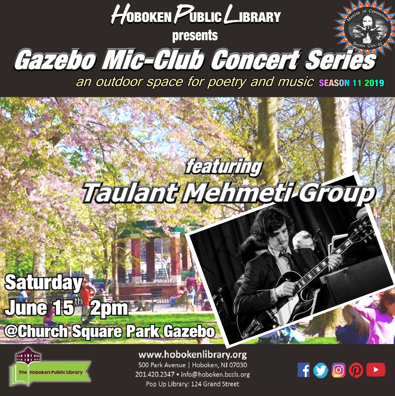 Gazebo Mic Club Concert: Taulant Mehmeti Group