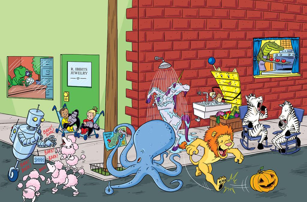 Comic Book Arts Workshop With Gregg Schigiel