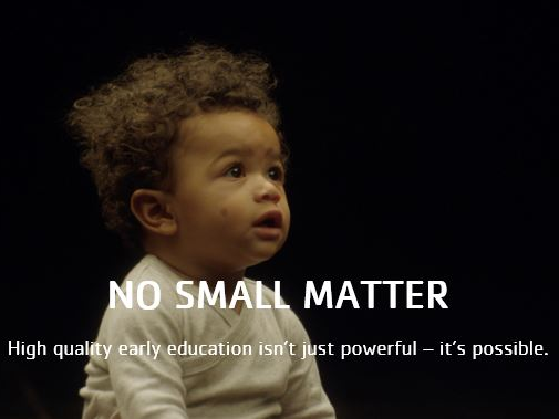 For Parents!  A Documentary:  No Small Matter - The Importance of Early Literacy