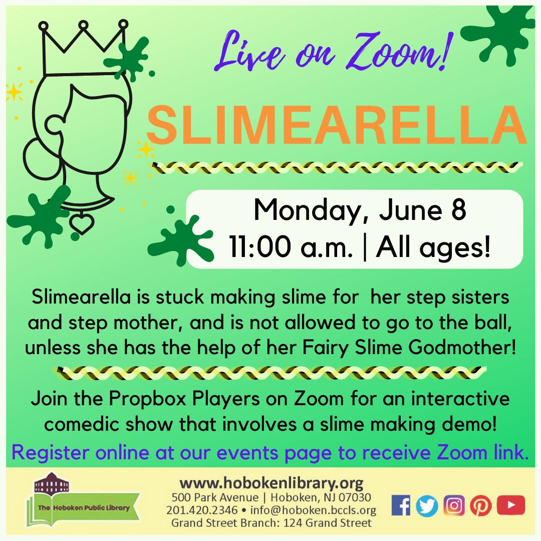 Slimearella! Live on Zoom!