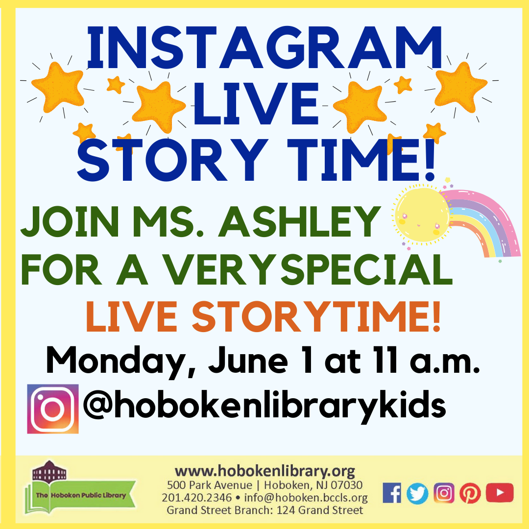 Story Time: Live on Instagram!