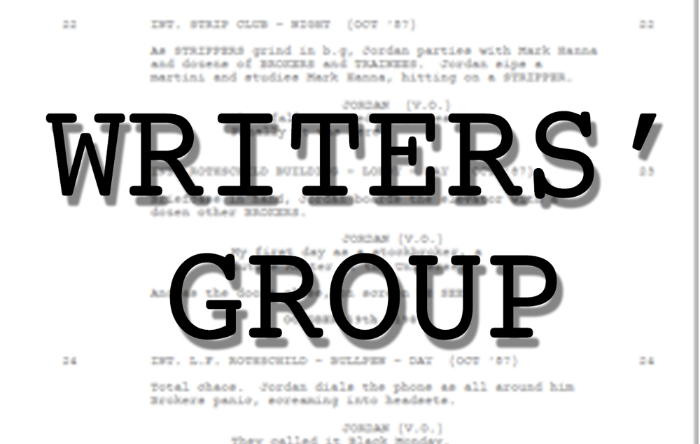 Live Event: Writers Group (on Zoom)