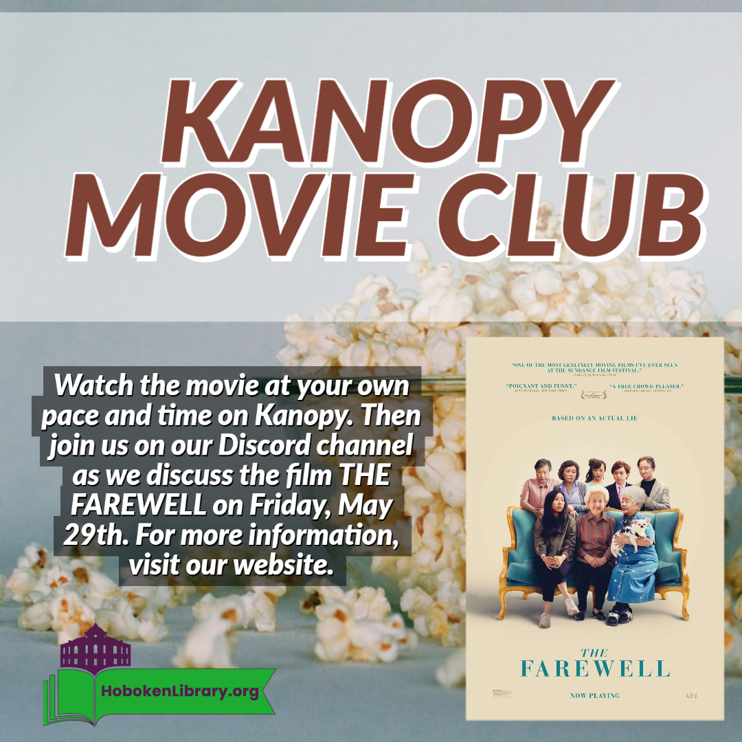 Kanopy Movie Club Live Meeting on Discord