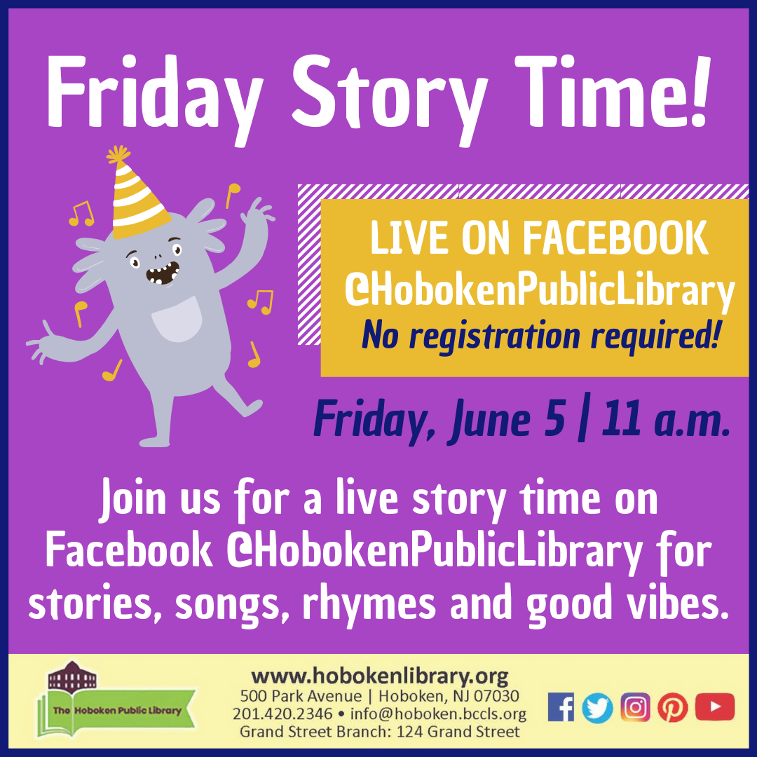 Story Time: Live on Facebook!