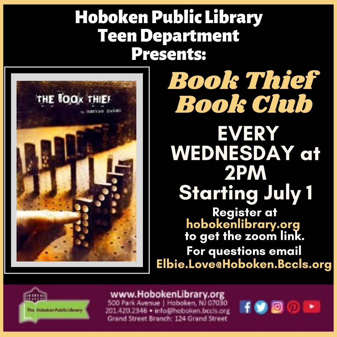 Book Thief Book Club - Live on Zoom!