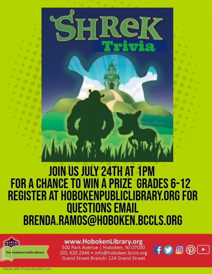 Teen Trivia: Shrek - Live on Zoom!