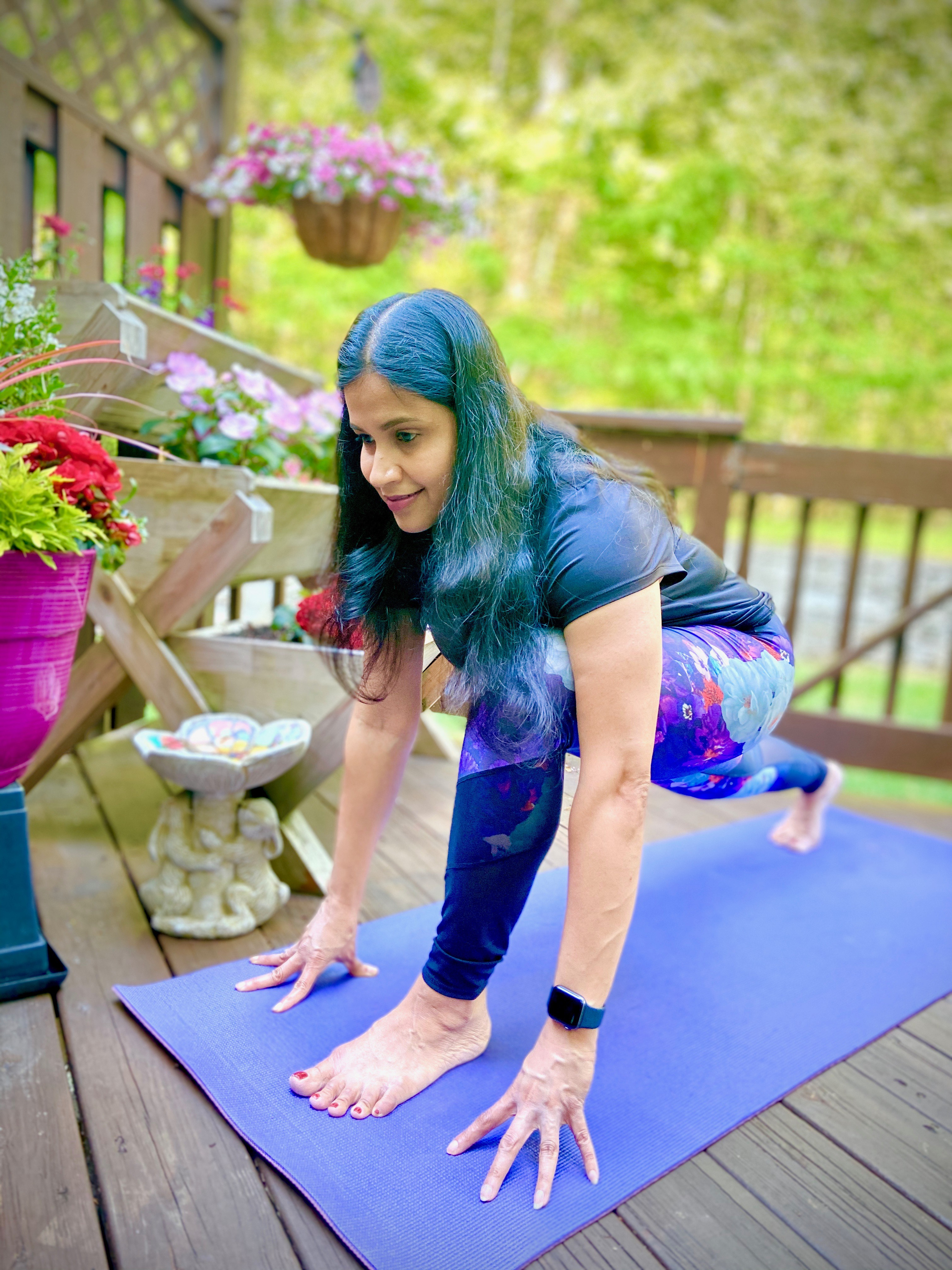 Vinyasa Flow Yoga on Facebook Live and Recorded