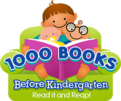 1000 Books Before Kindergarten at HPL!