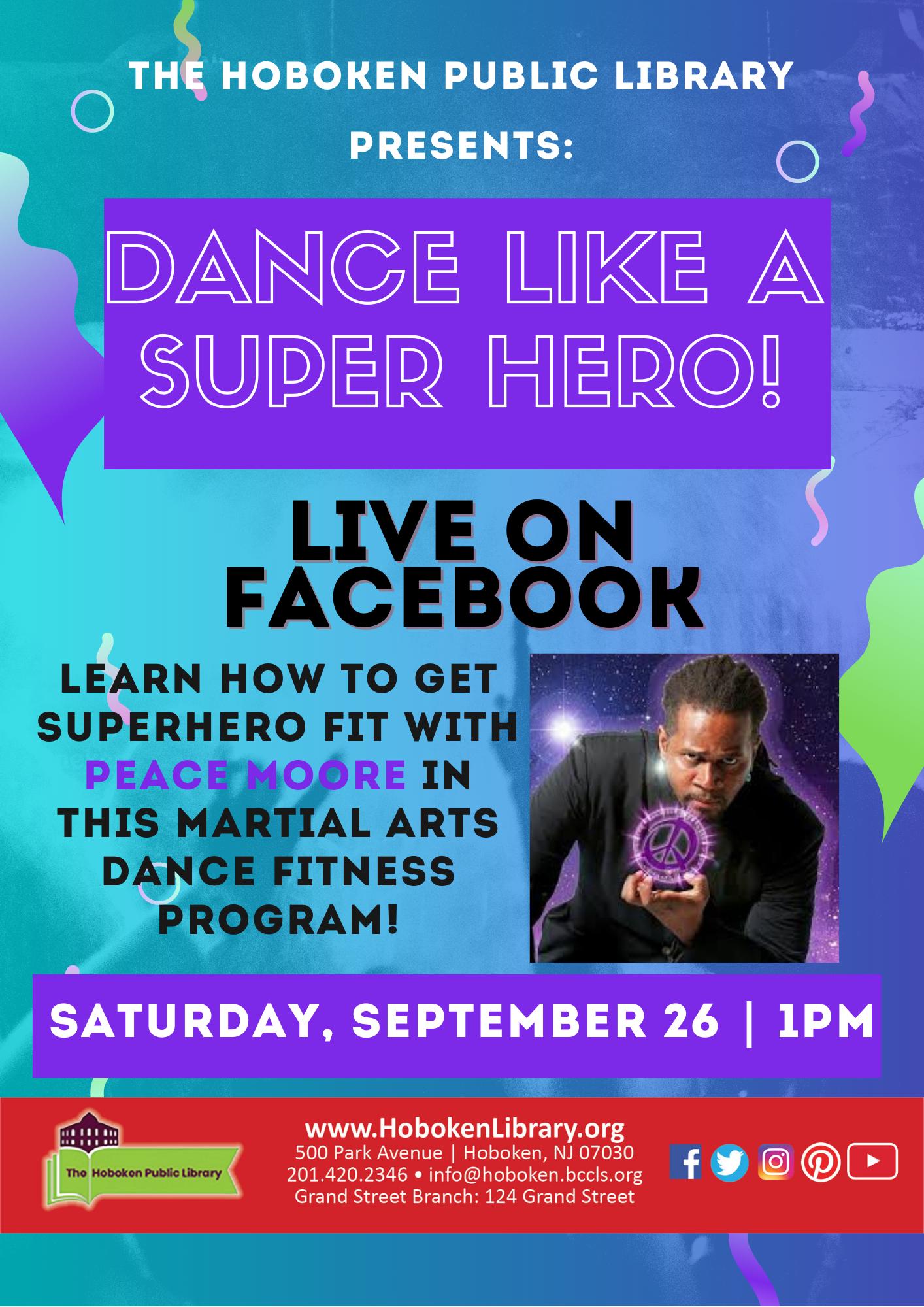 Dance Like a SuperHero Workshop - Live on Facebook!