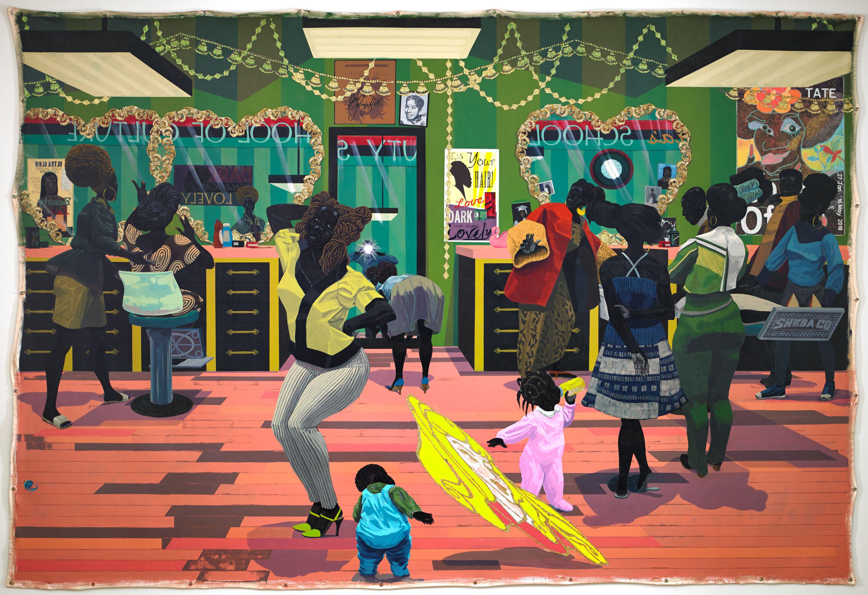 Art from Home Classwith Liz Ndoye -