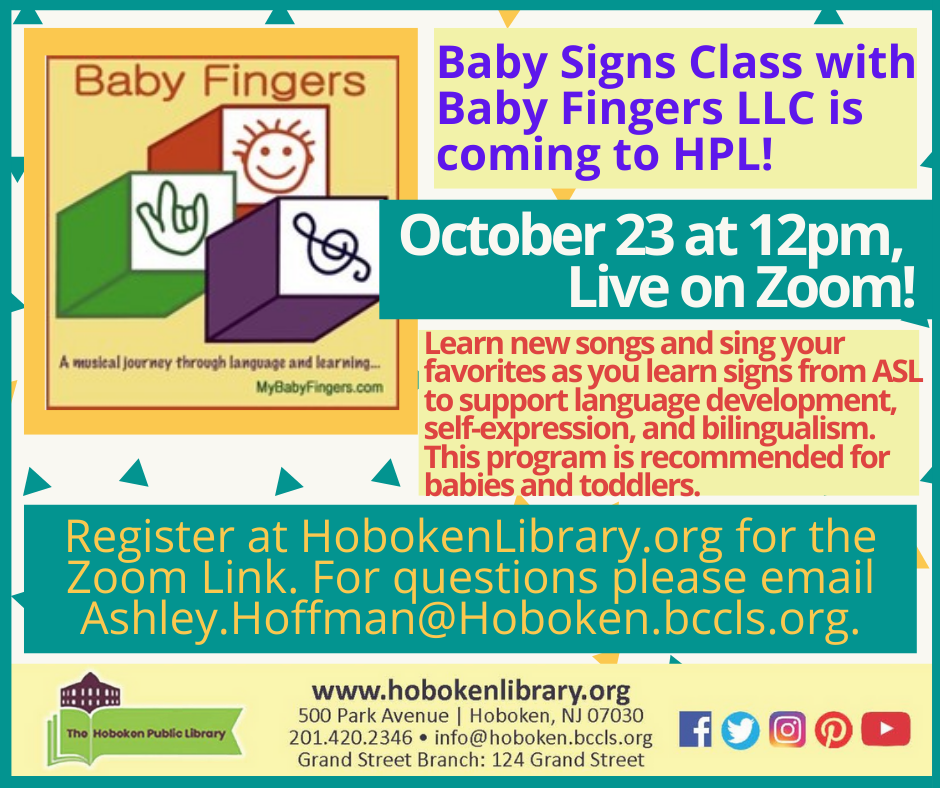 Baby Fingers: A Musical Journey through Language and Learning - Live on Zoom!