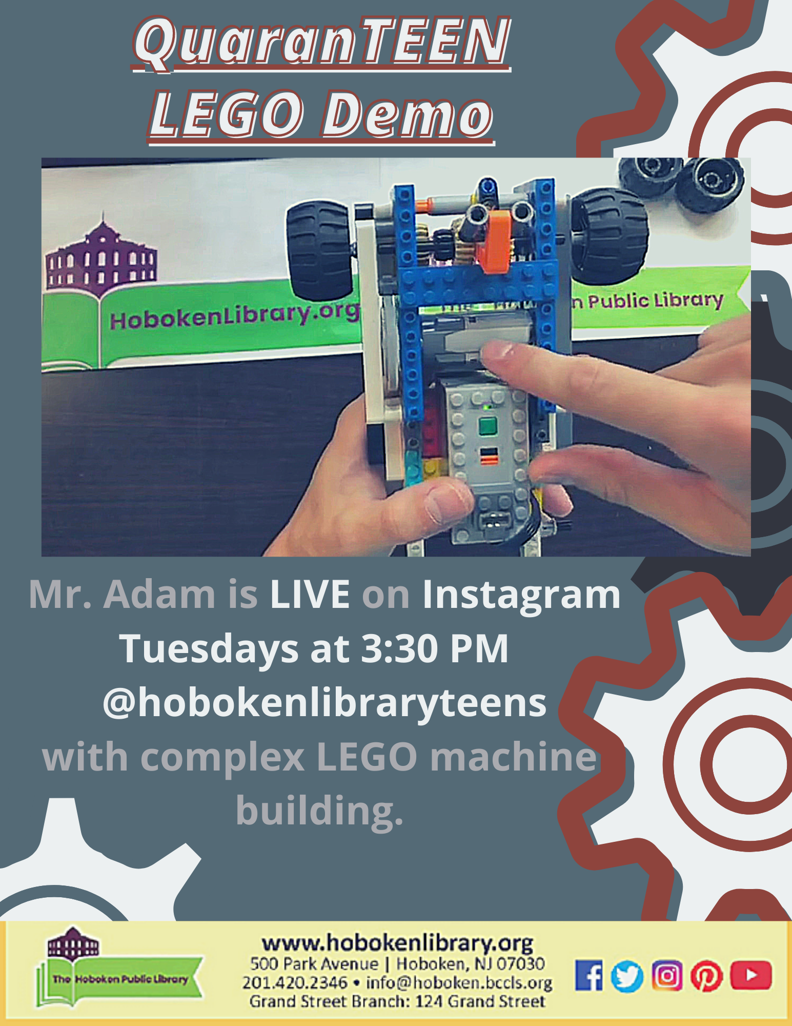 QuarenTEEN LEGO Demo: Live on Instagram