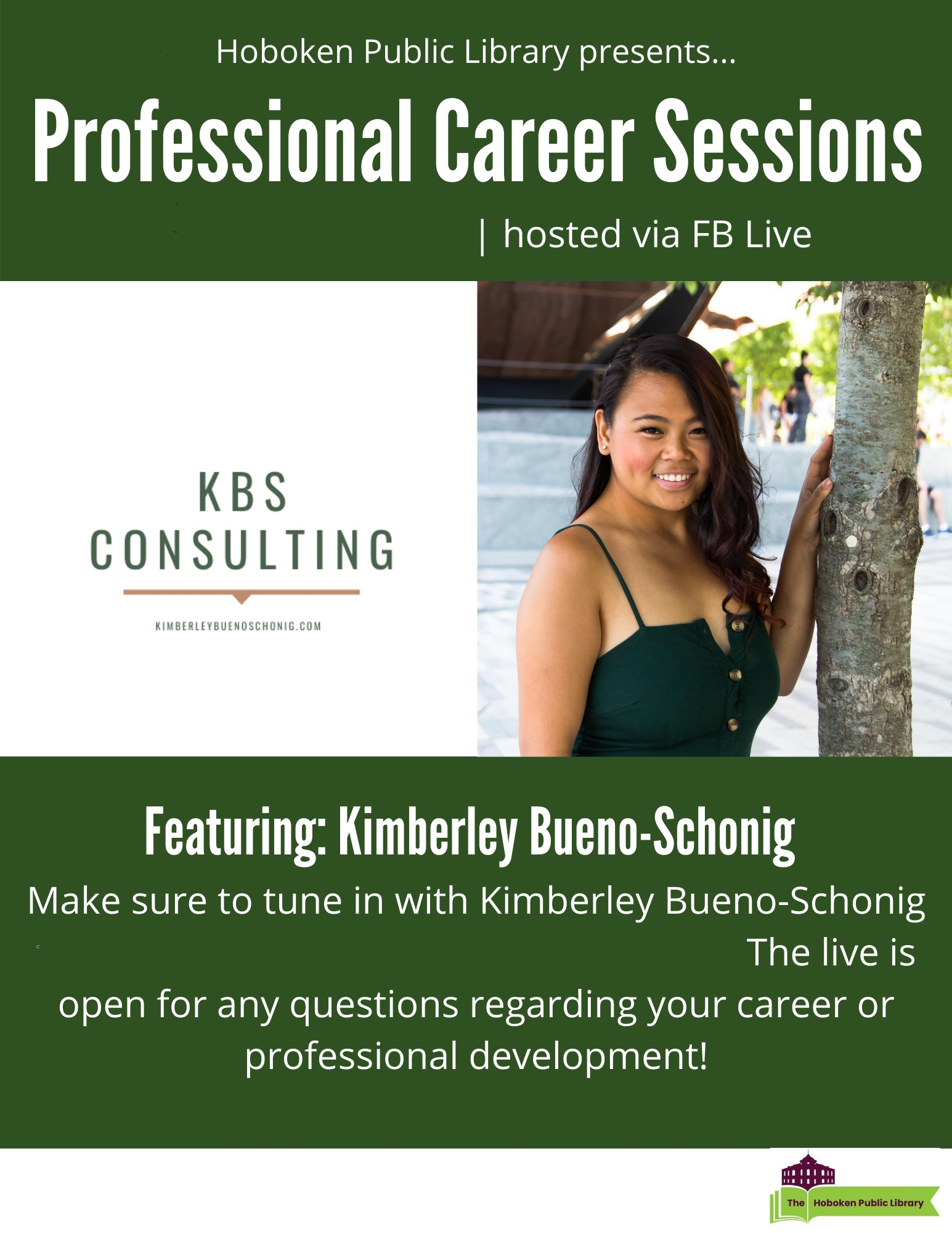 LIVE on Facebook Professional Career Sessions