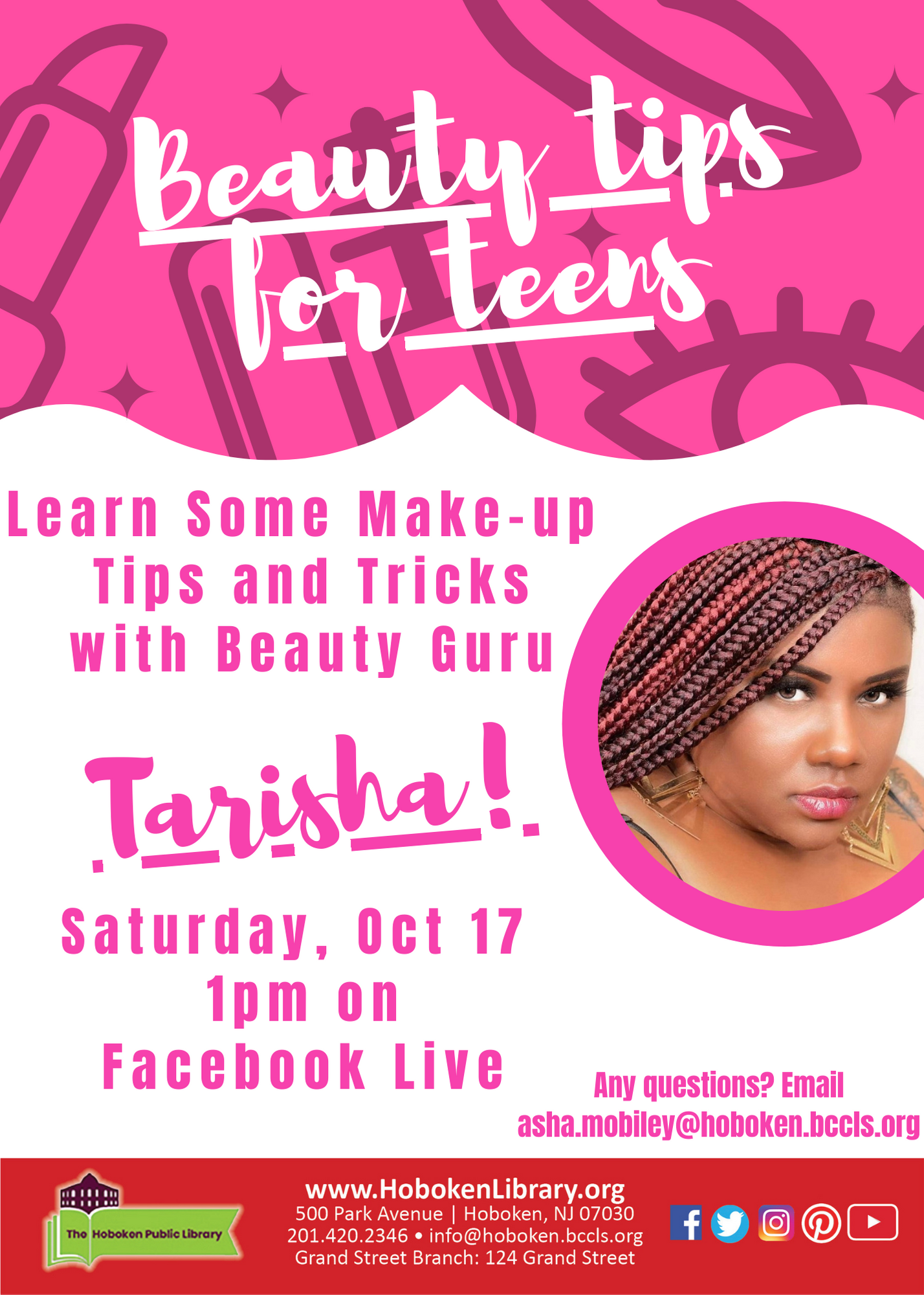 Beauty Tips for Teens! - Live on Facebook