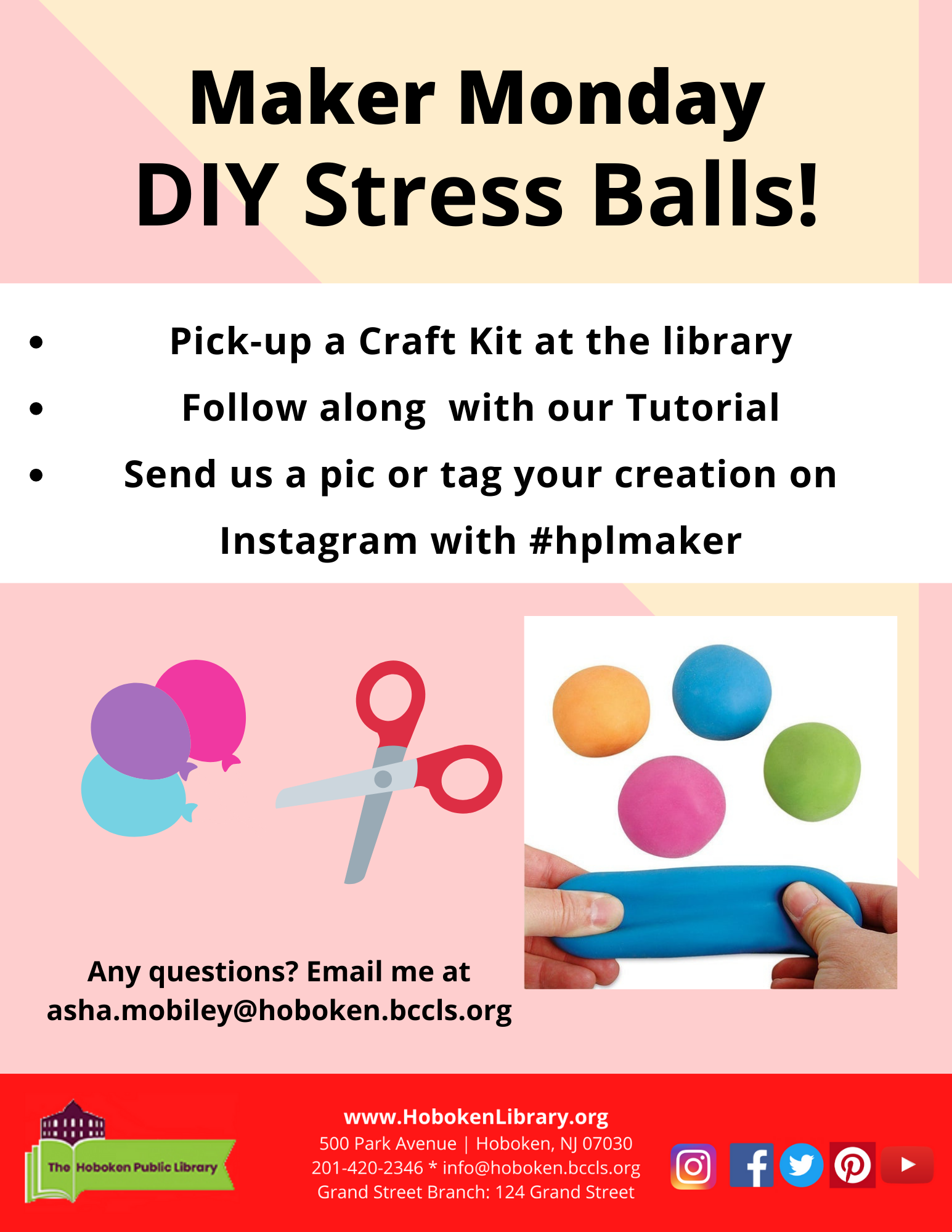 Teen Maker Monday - DIY Stressballs