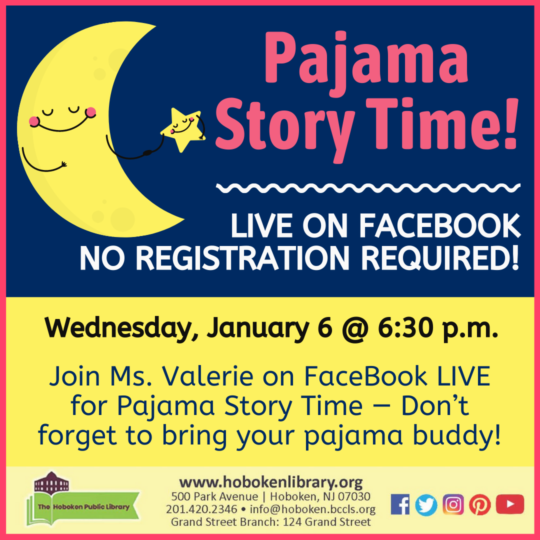Pajama Story Time - Live on Facebook!