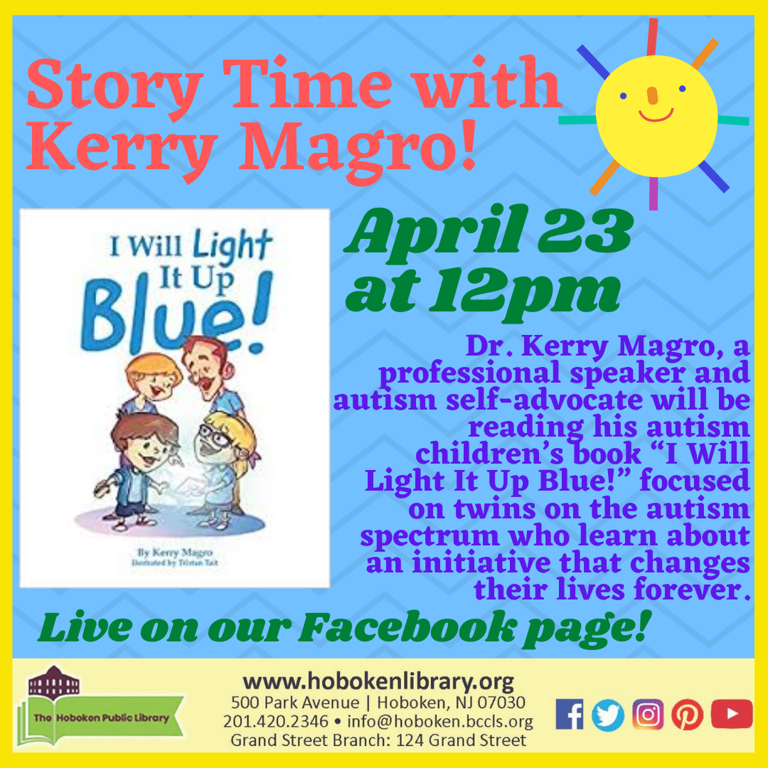 I Will Light It Up Blue! - Story Time with Kerry Magro - Live on Facebook!