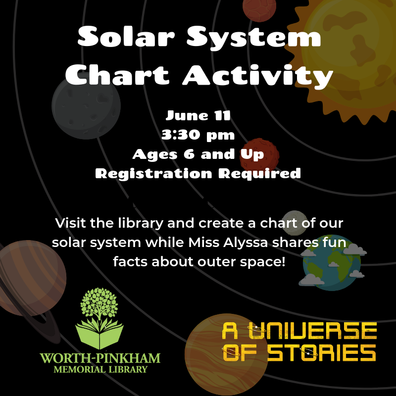 Create A Solar System Chart