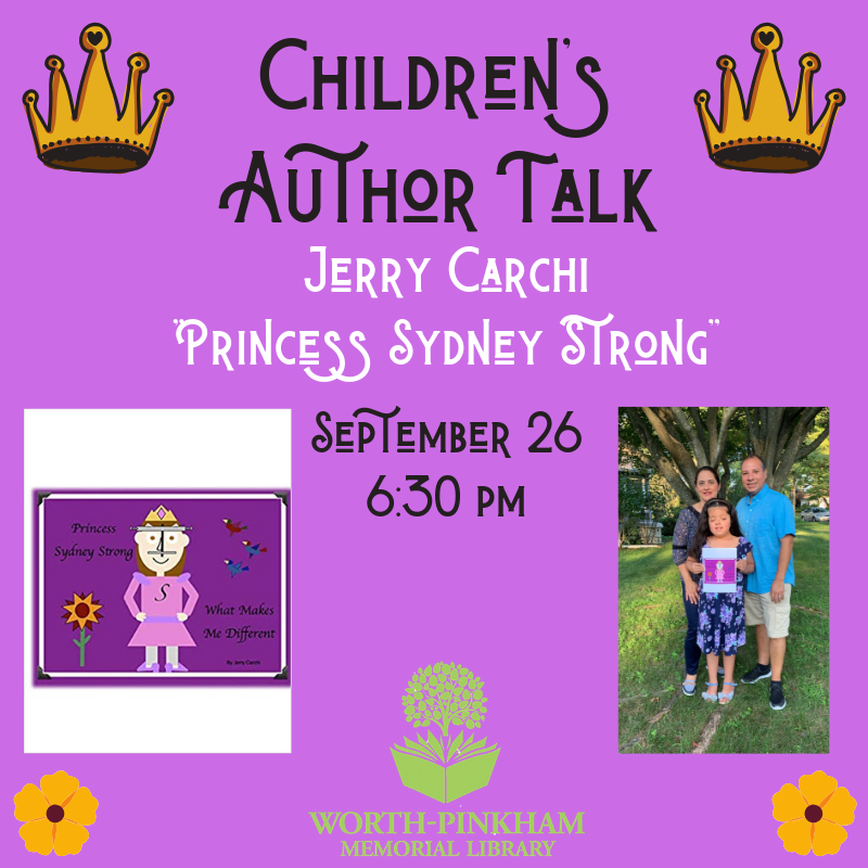 Author Talk: Jerry Carchi