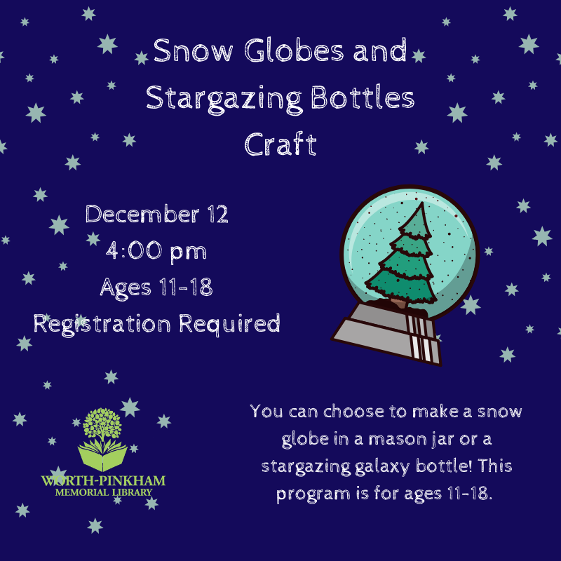 Snow Globes and Stargazing Bottles Craft