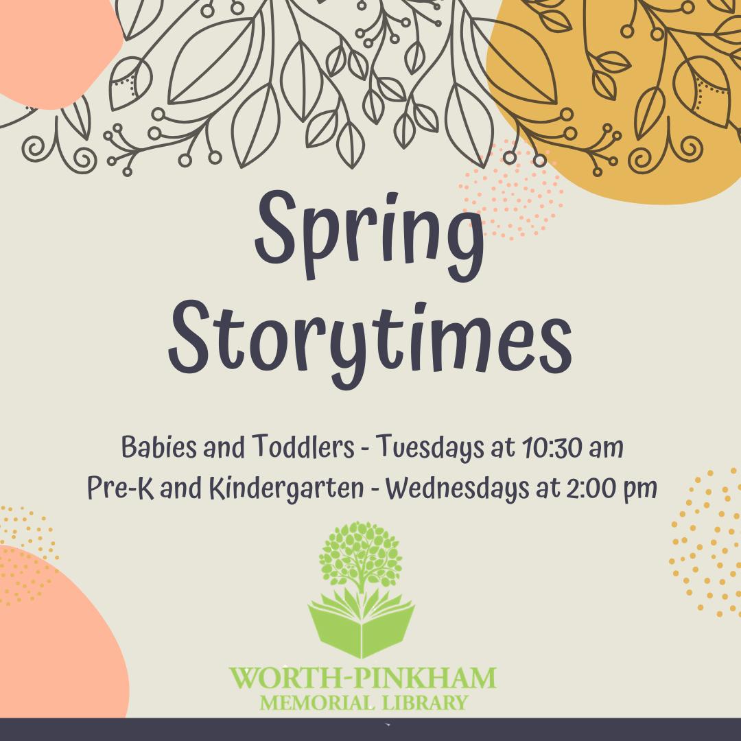 Baby/Toddler Storytime