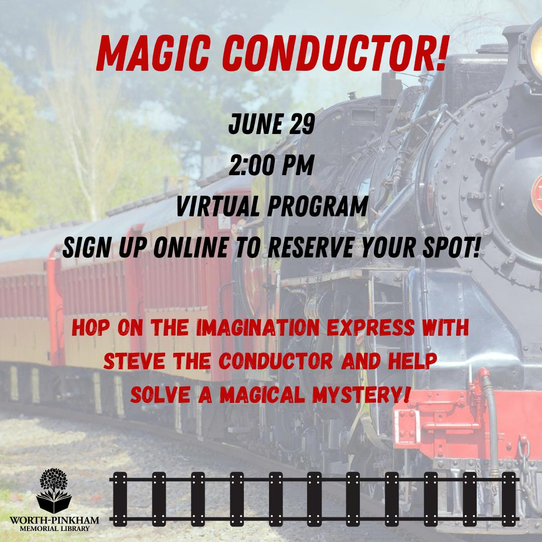 VIRTUAL Magic Conductor Event!