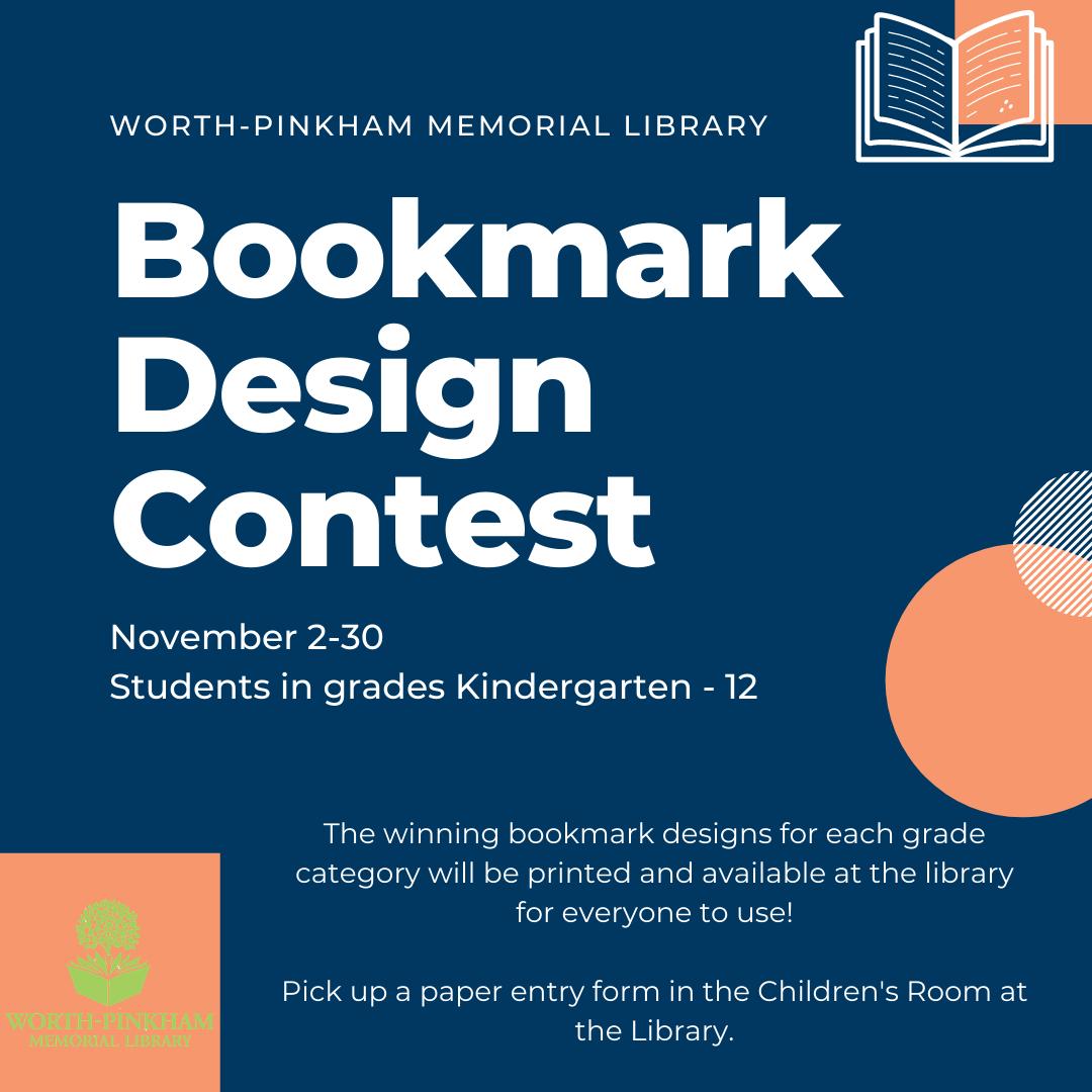 Bookmark Design Contest