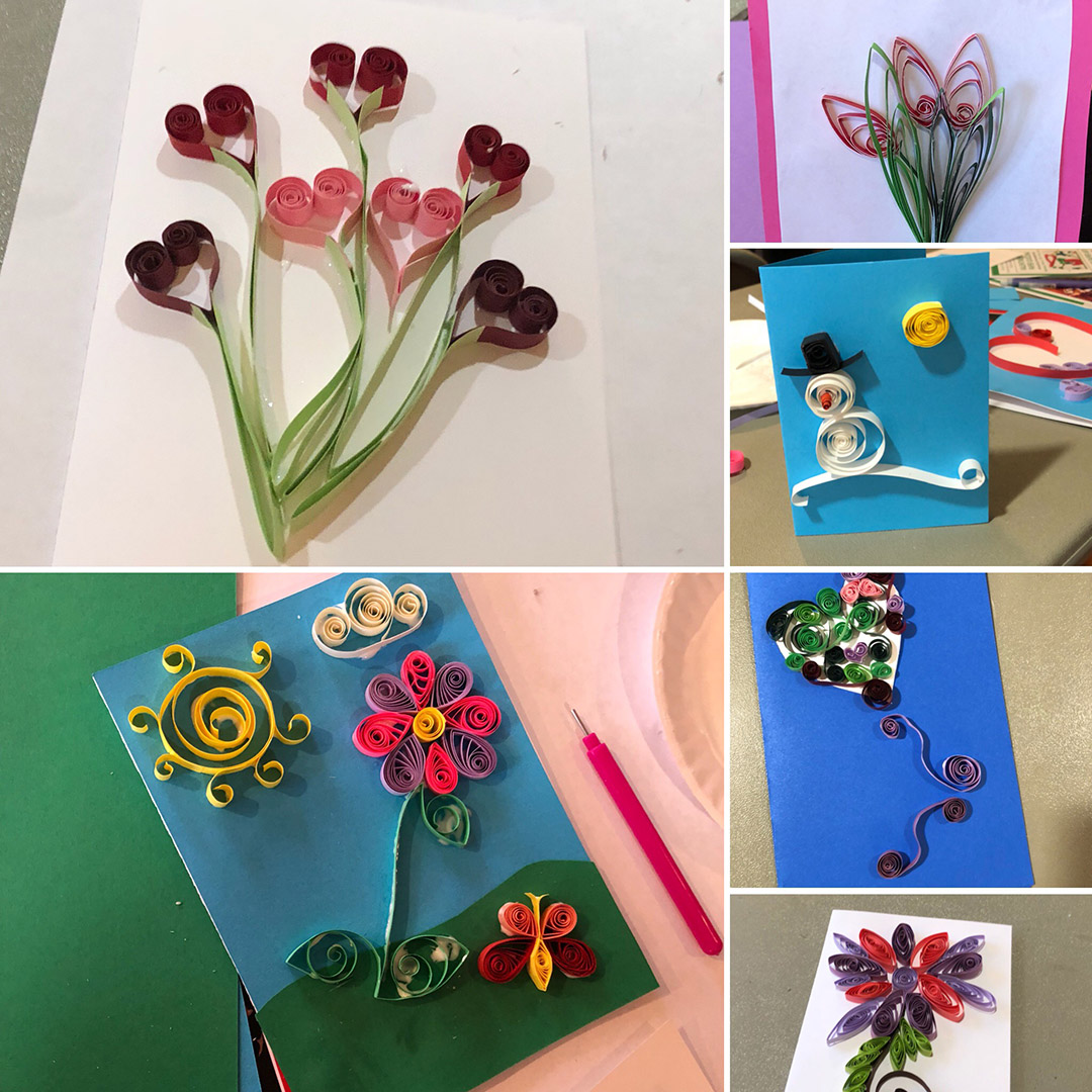 Paper Quilling Workshop for Adults