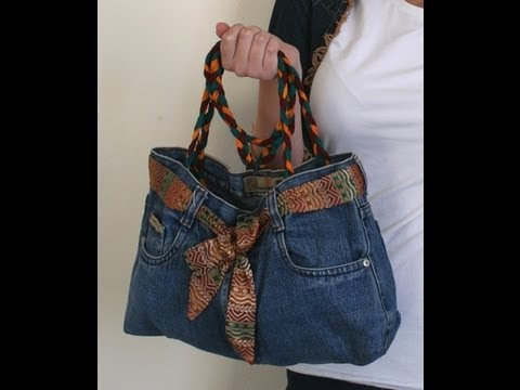 Make Upcycled Jean Bags