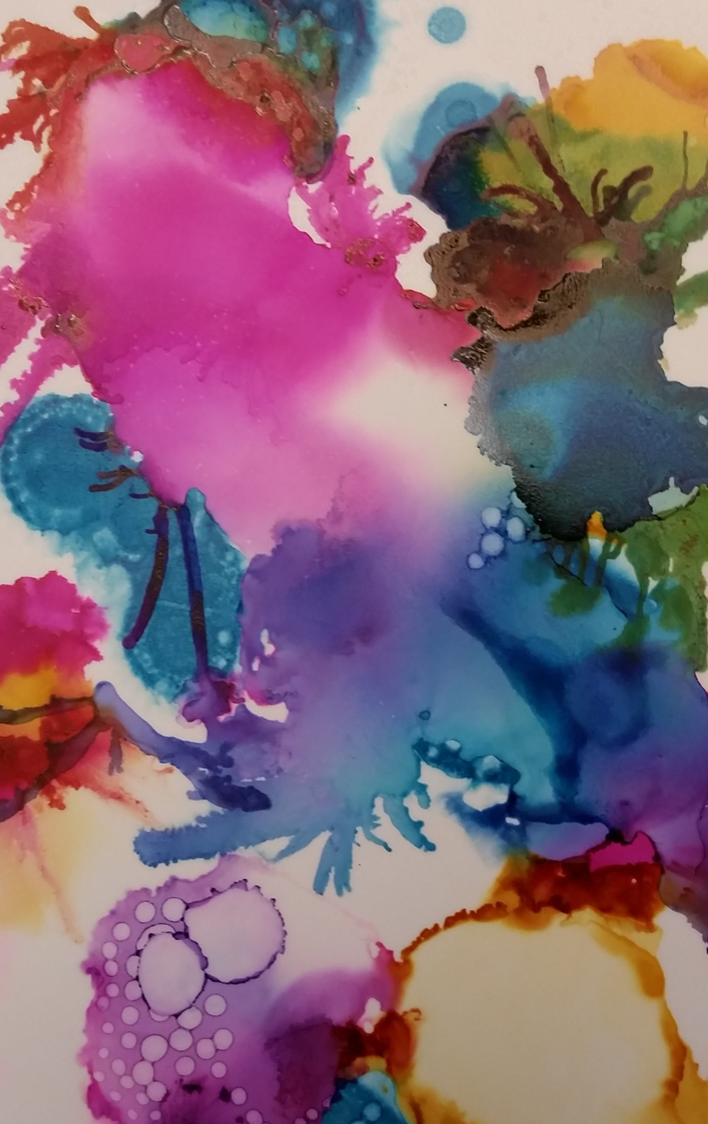 Introduction to Alcohol Ink Art (Adult Creative Arts)