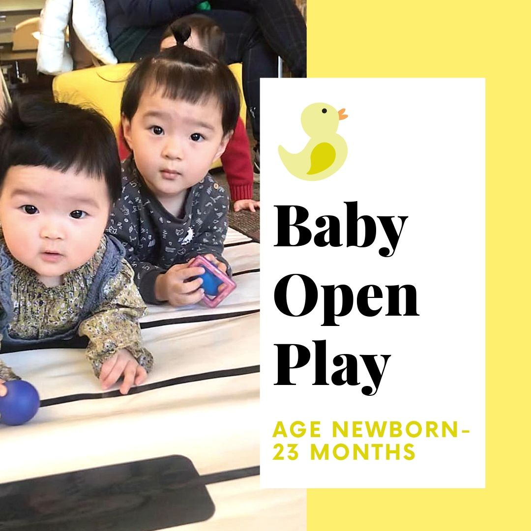 Baby Open Play - Newborn-23 mos