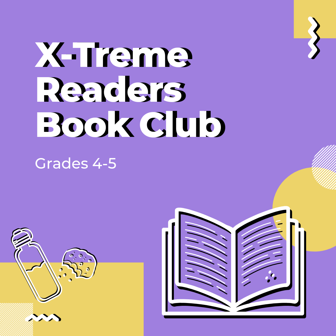 ONLINE X-Treme Readers Gr. 4-5 Book Club