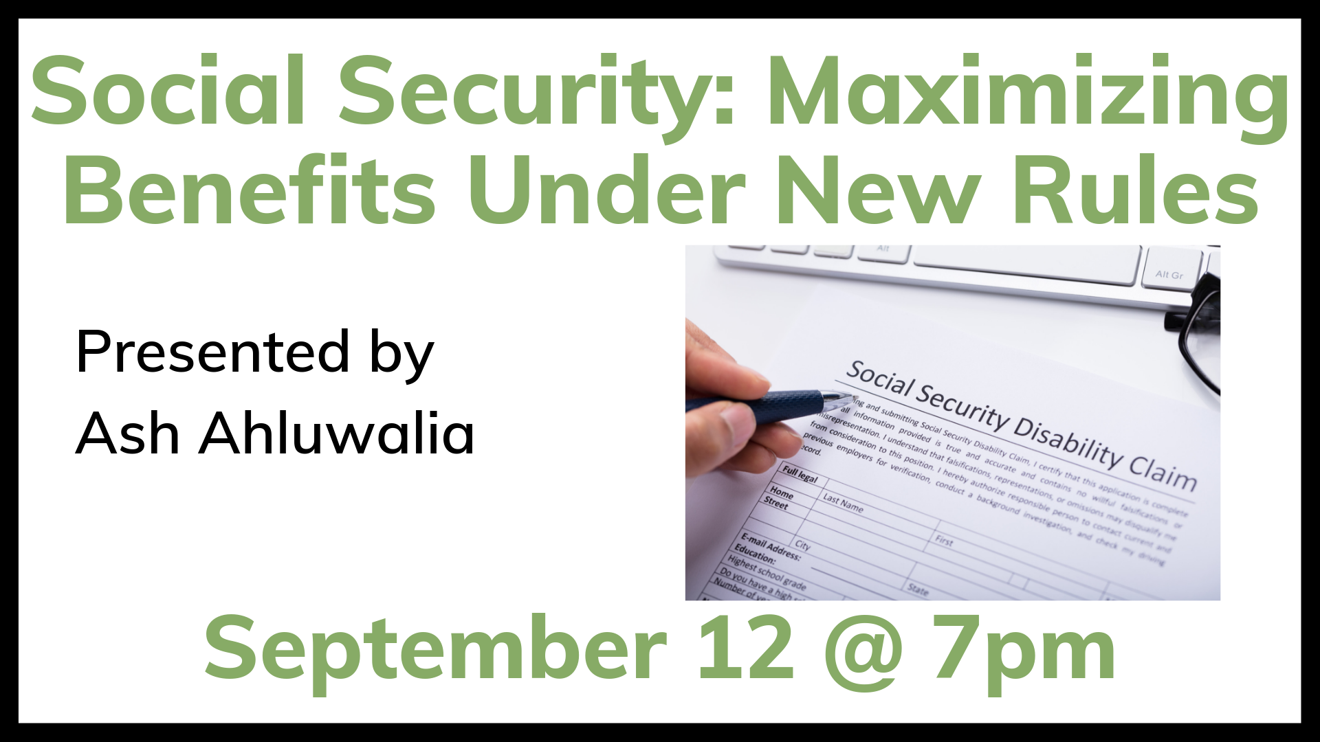 Social Security: Maximizing Benefits Under the New Rules