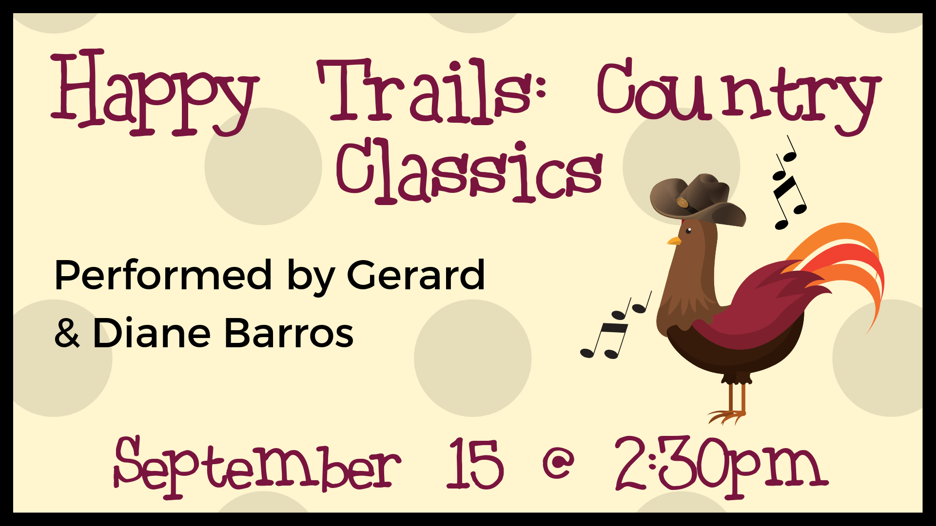 Happy Trails: Country Classics