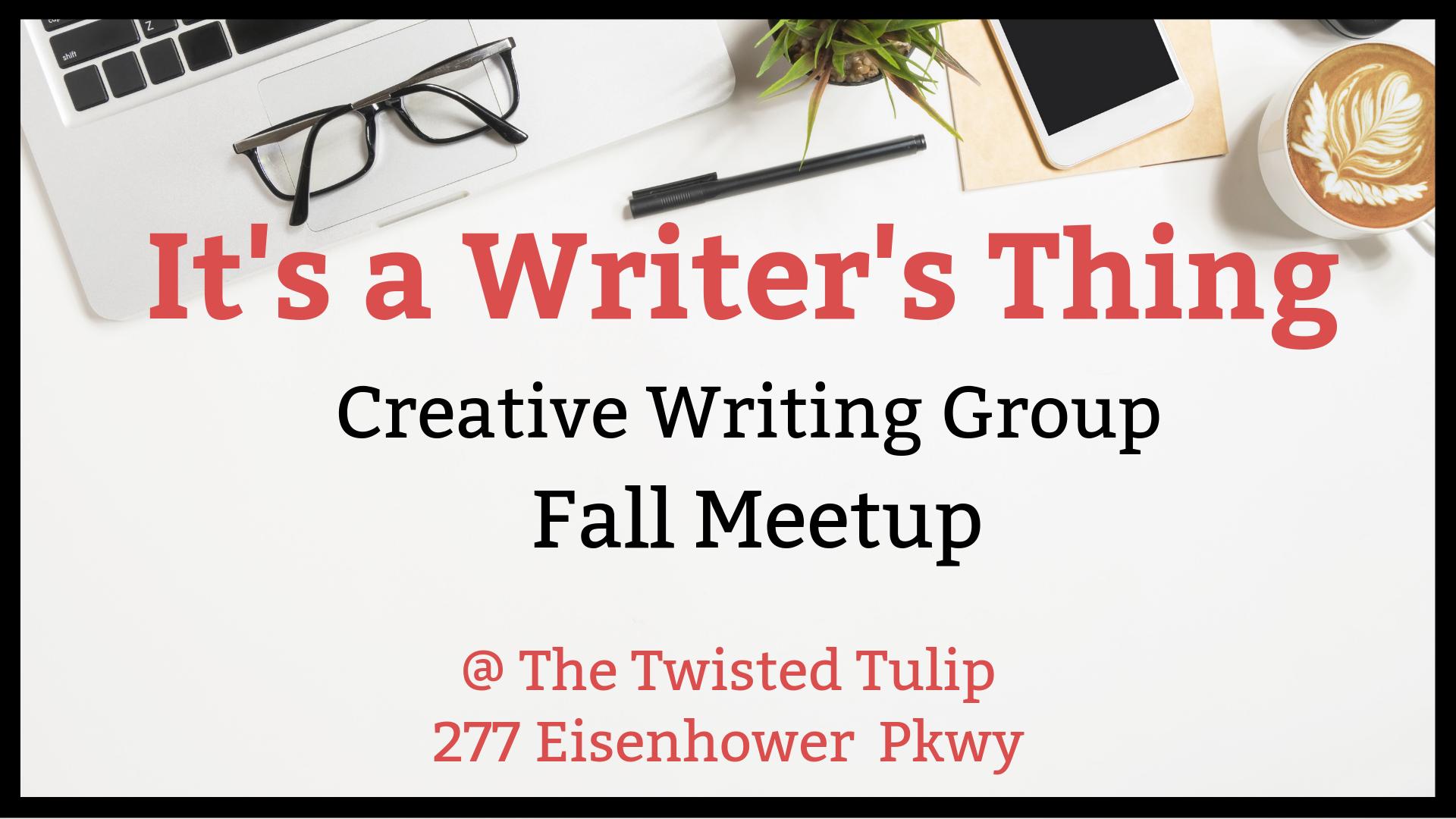 Creative Writing Fall Meetup