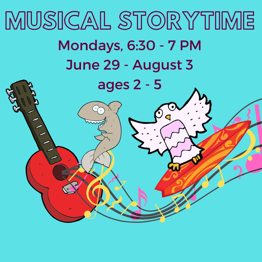 CANCELED: Musical Storytime