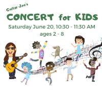 CANCELED: Guitar Joe's Concert for Kids