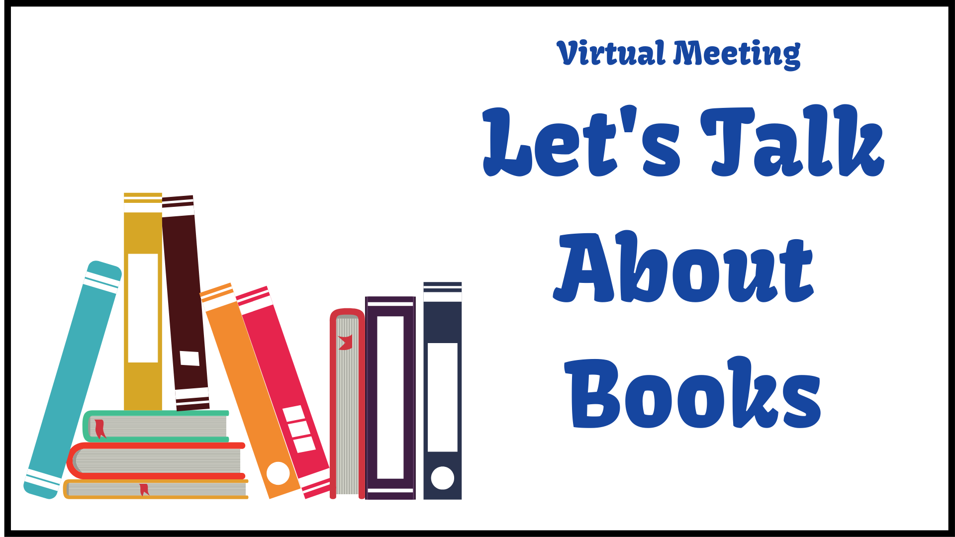 VIRTUAL:  Let's Talk About Books:  The Orphan Master's Son