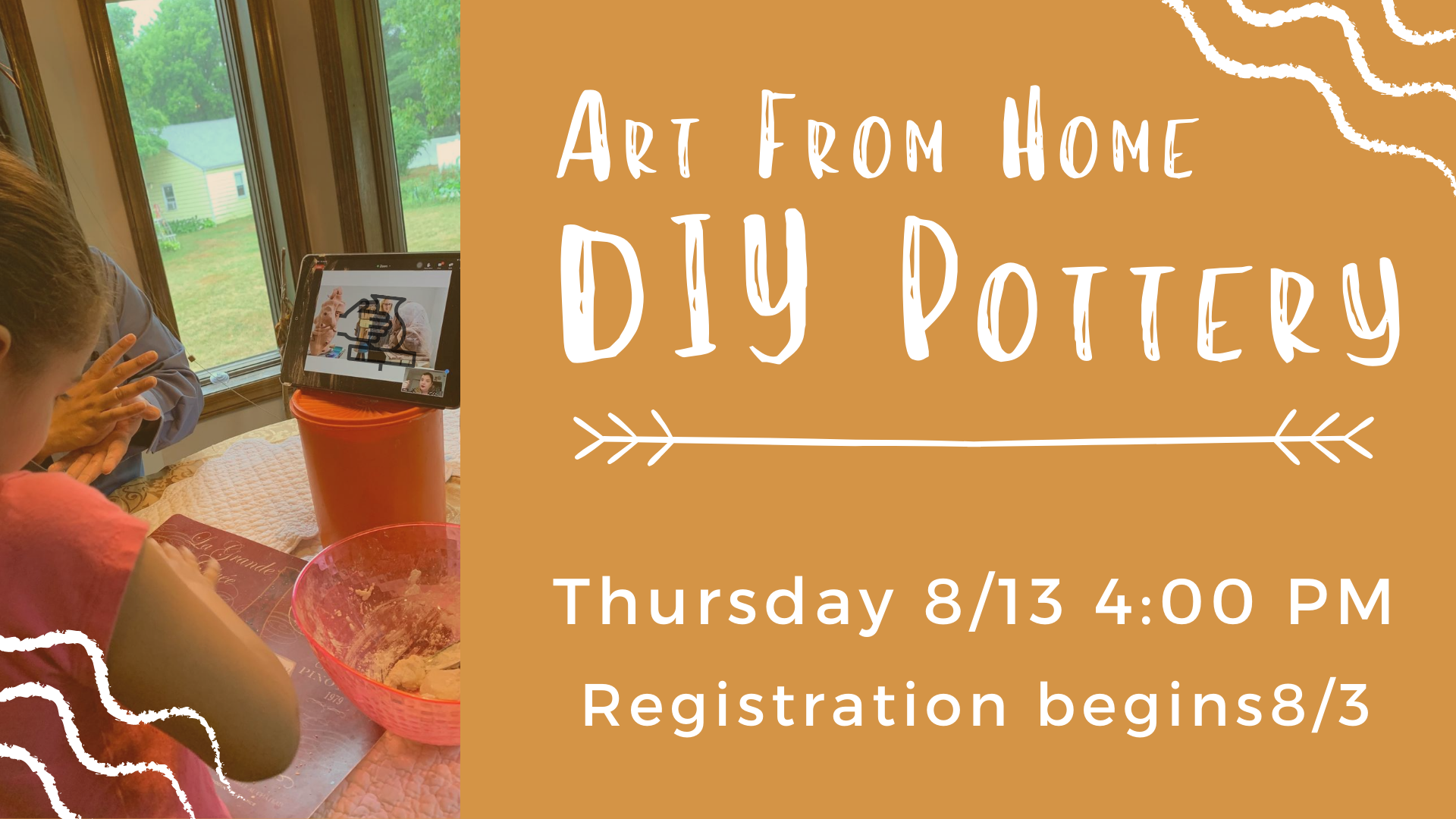 Art From Home - DIY Pottery